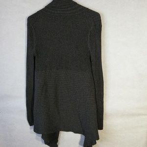 Merona Sweaters - Merona Cascade Cardigan Heather Dark Gray Size XXL